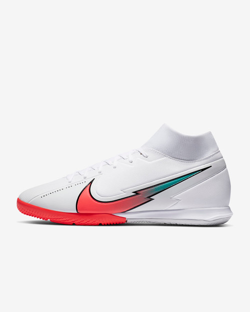 Superfly 7 Academy IC - White/Flash Crimson