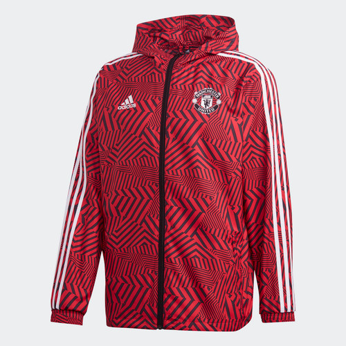 Manchester United 2020/21 Windbreaker - Red/Black
