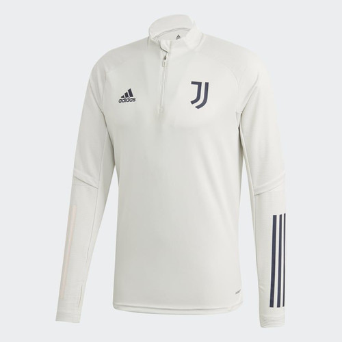 Juventus 2020/21 Training 1/4 Zip - Grey/Pink/Black