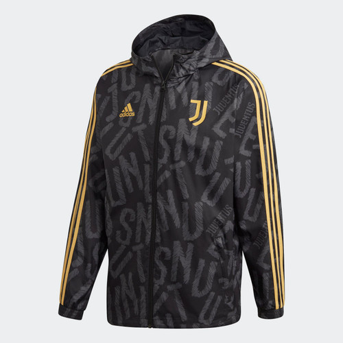 Juventus 2020/21 Windbreaker - Black/Gold