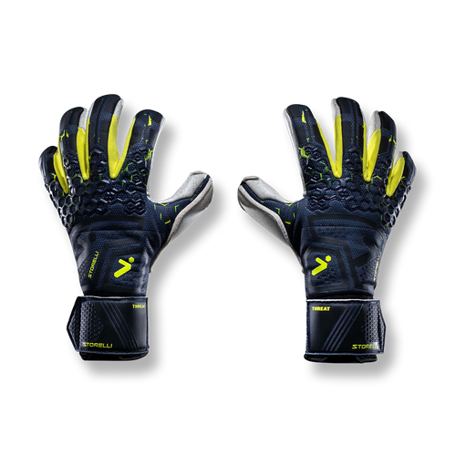 Silencer Threat - Removable Finger Protection - Black/Yellow/White