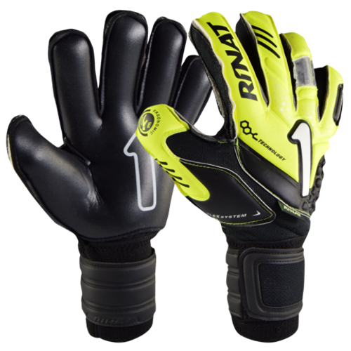 Arkano Spine Semi - Yellow Goalkeeper Gloves