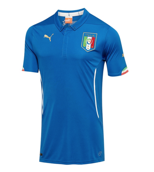 Italy National Team 2014 World Cup Home Jersey