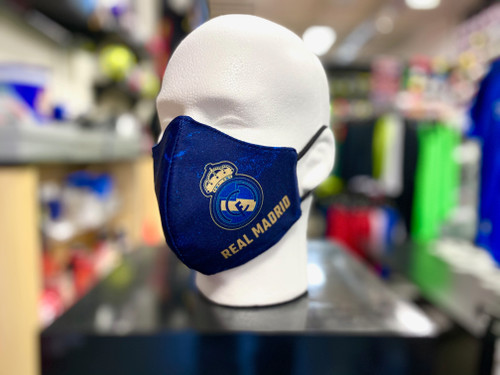 Real Madrid Facemask - Navy