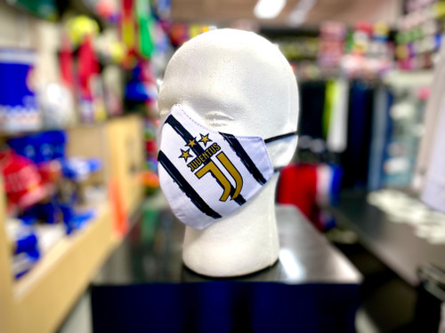 Juventus Facemask - White/Black/Gold