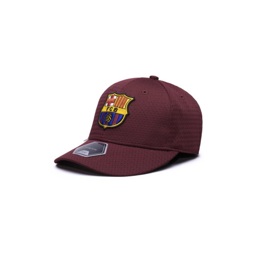 Barcelona Mesh Flex Fit Hat - Marroon