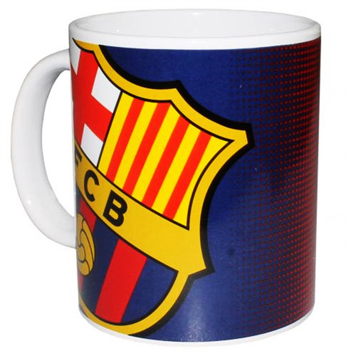 Barcelona Mug - Navy/Red Fade