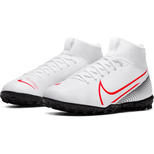 YOUTH - Superfly 7 Academy TF - White/Red