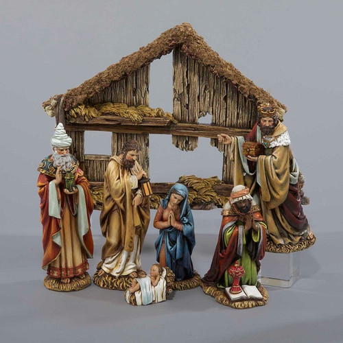 Christmas nativity figurine set