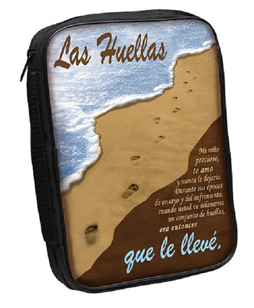 Bible Cover: Las Huellas