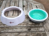 Chilled Freeze Cool Frosty Water Bowl 23.5cm