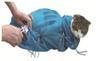 Luxury Microfibre 'Keep Still' Cat Bath Bag