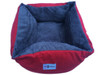Reversible 'Snuggle Snooze' Plush Rectangle Pet Bed