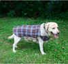 Reversible Waterproof Checked Winter Dog Jacket
