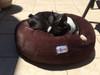 'Supreme Slumber' Plush Soft Round Calming Pet Bed