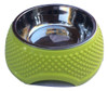 2 in 1 Stainless Steal and Plastic Heart Design Pet Bowls