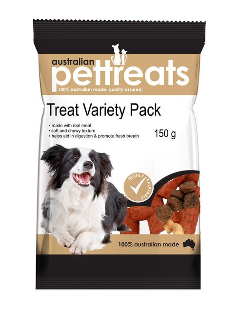 Tasty Soft Chewy Dog Treat Variety Pack 150G