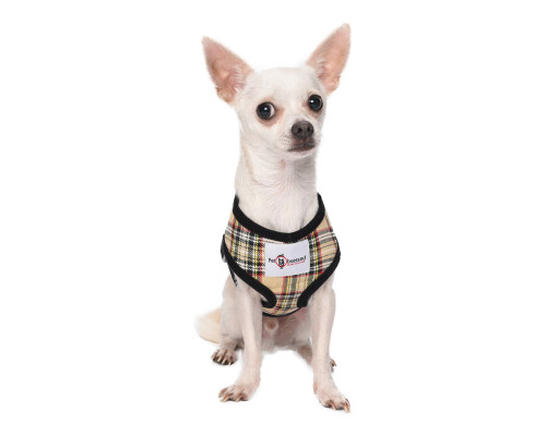 'Style Me Soft' Fashionista Checked Puppy Harness