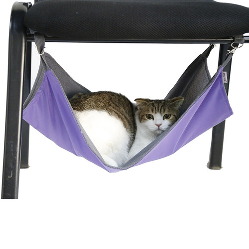 Reversible and Waterproof Pet Hammock / Cat Bed