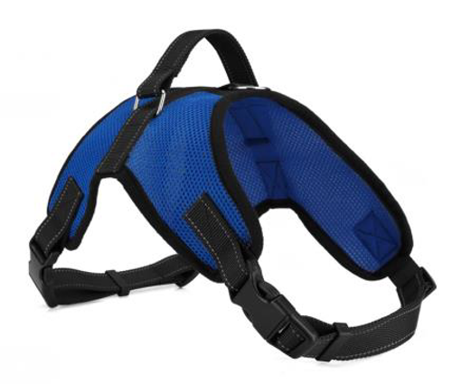 Sturdy Breathable Adjustable Mesh Dog Harness