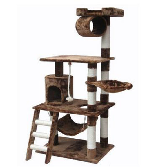 BOK Large Cat Scratching Tree With Hammock