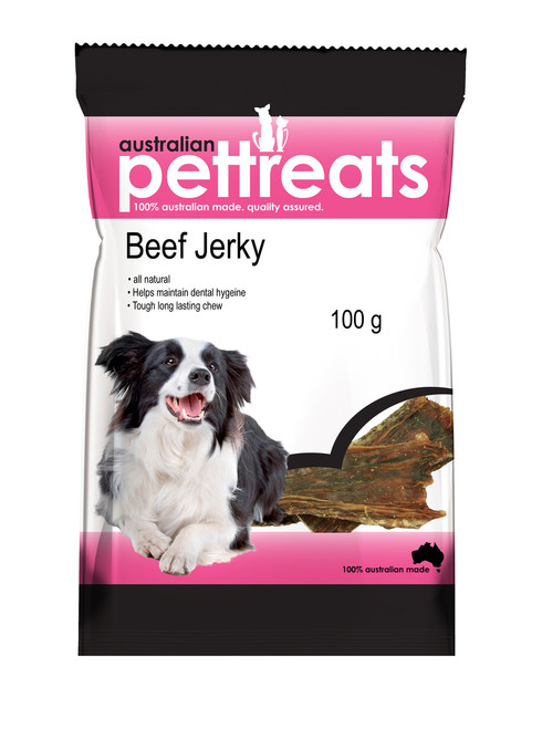 High In Protein Natural Beef Jerky Treats