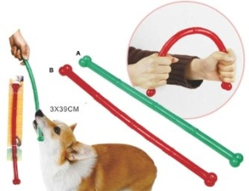 'Stick' Durable and Bendable Dog Chew Toy
