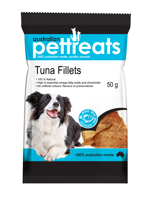 Natural Air Dried High In Protein Tuna Fillets
