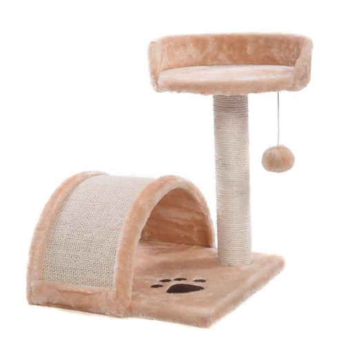 D2 Small Cat Scratching Post With Toy Ball