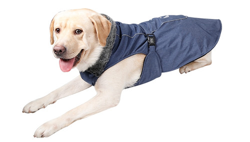 Dog Fleece-Lined Warm Waterproof Winter Jacket