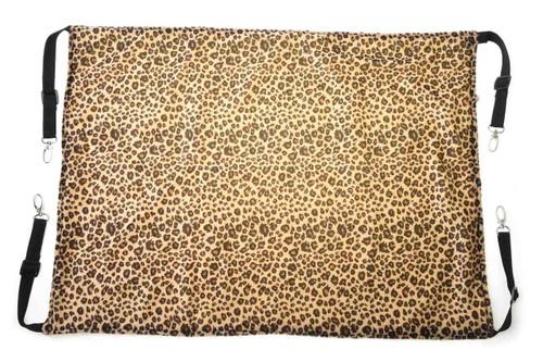 Designer Cool Leopard-Print Cat Hammock Bed