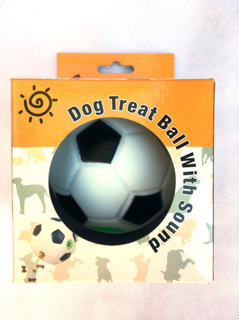 Soccer Durable Noise Treat Dispensing Ball