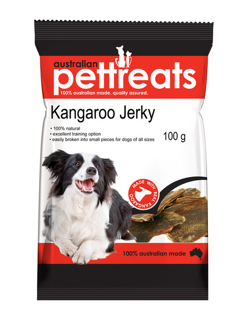 High In Protein Natural Kangaroo Jerky Treats