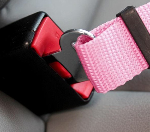 Keep Your Dog Safe' Adjustable Dog Car Seat Belt