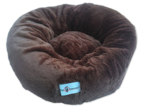 The Pet Obsessed 'Supreme Slumber' Plush Soft Round Pet Bed