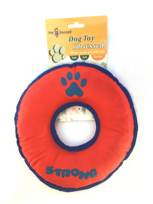 Large Strong Durable Donut Round Dog Toy