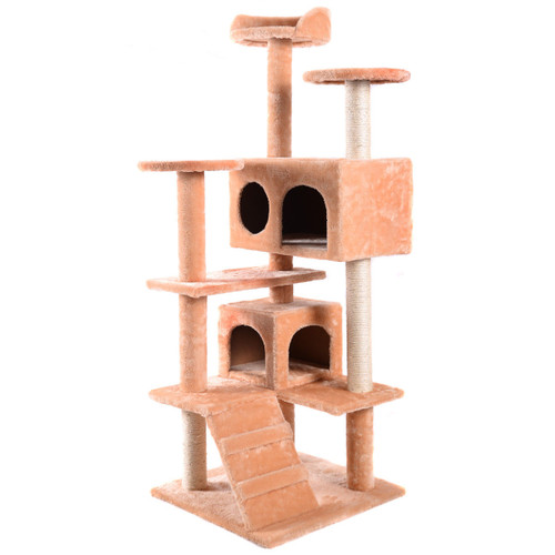 GFD Large Cat Scratching Tree With Soft Sleeping Areas