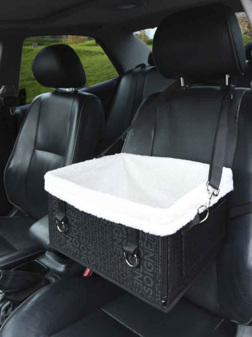 Premium Luxury Soft Dog Car Booster Seat