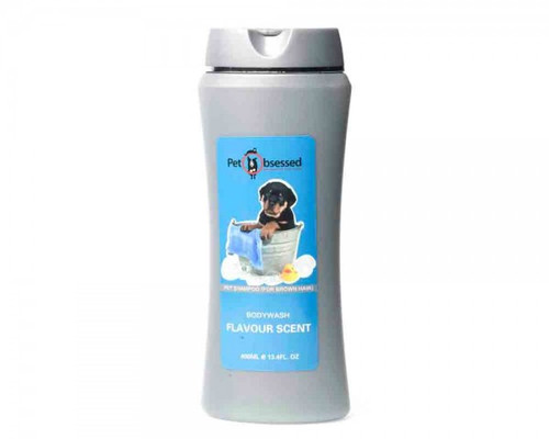 Premium Natural Fresh Pet Shampoo - For Brown Hair (400ml)