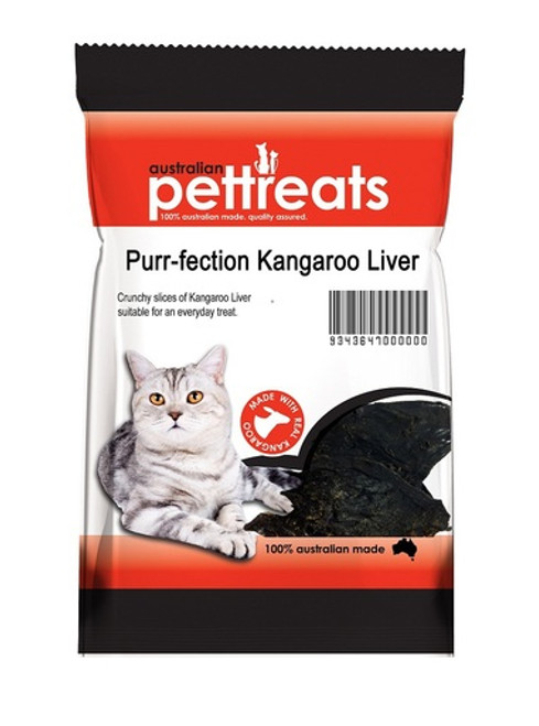 Natural High In Protein Bite Sized Kangaroo Liver 60g