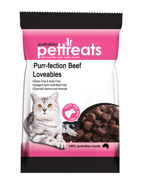 Semi Moist Beef Loveables Gluten & Grain Free 80g