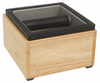 "Rattleware Knock Box Set, 6"" x 5.5"" x 4"", Maple Holder"