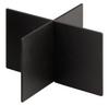 """Rattleware Snap Bin Diagonal Divider, 3"""", Black"""
