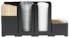 Rattleware Snap Bin Starter Kit, Black