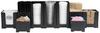 Rattleware Snap Bin Complete Cafe Kit, Black