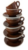 Revolution Classic Cup & Saucer Set, Brown