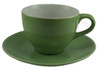 SengWare Cups with Saucers, Lime Green