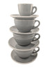 Revolution Classic Cup & Saucer Set, Gray