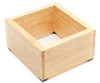 "Revolution Knock Box, Wood Holder, 7.5"" x 6.88"" x 4"""