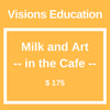 Milk and Art -- in the Cafe --